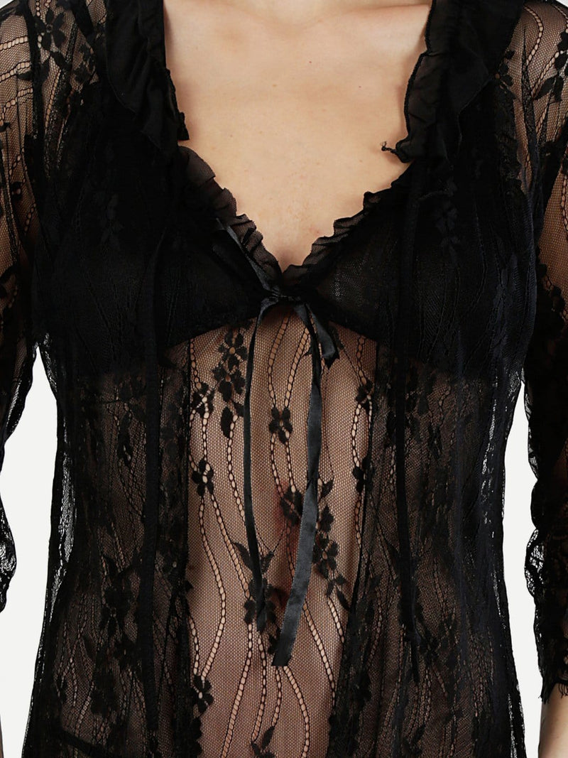 Black Beauty Babydoll