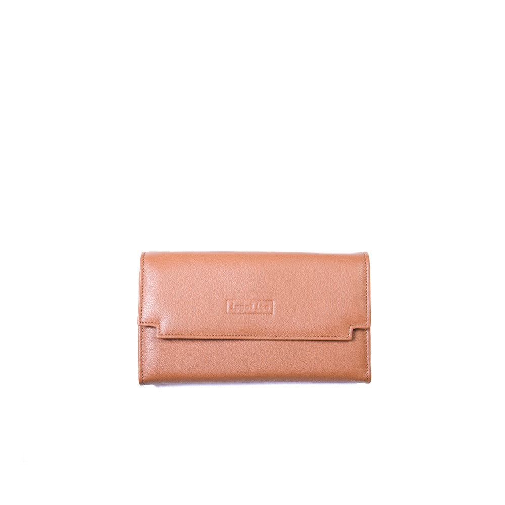 Zaira Wallet in Brandy