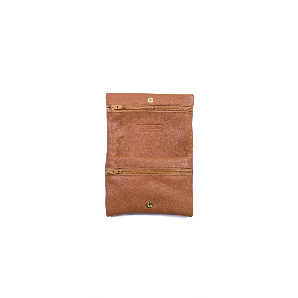 Deema Wallet in Brandy
