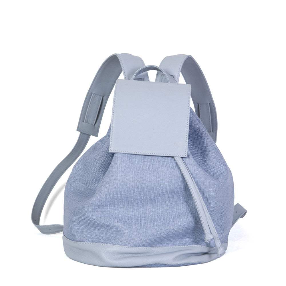 Bahama Backpack in Total Light Blue