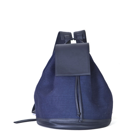Bahama Backpack in Total Navy Blue