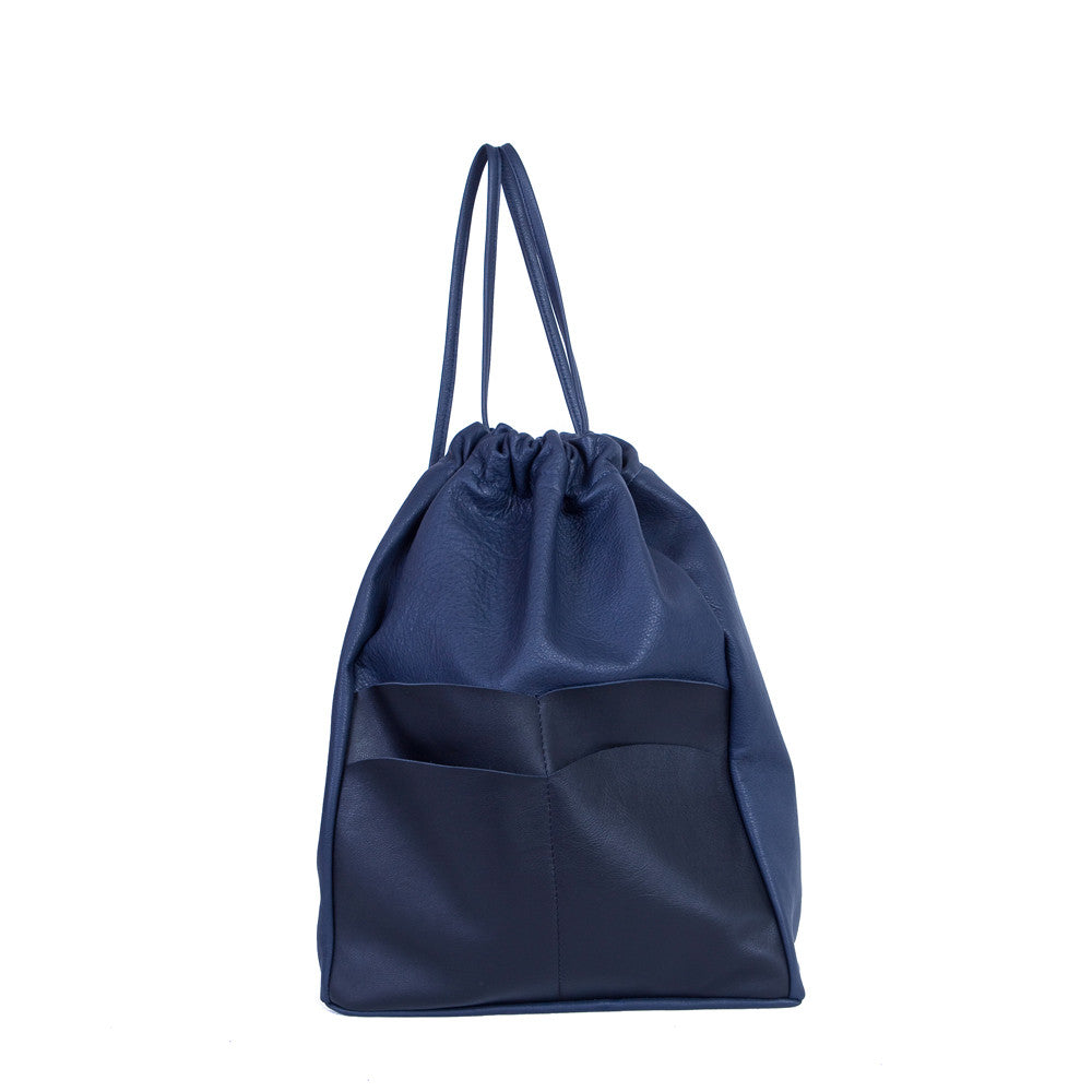 Backsack in Navy Blue & Black