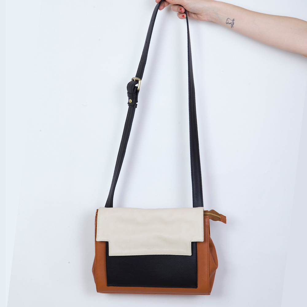 May Messenger in Brandy, Marble and Black