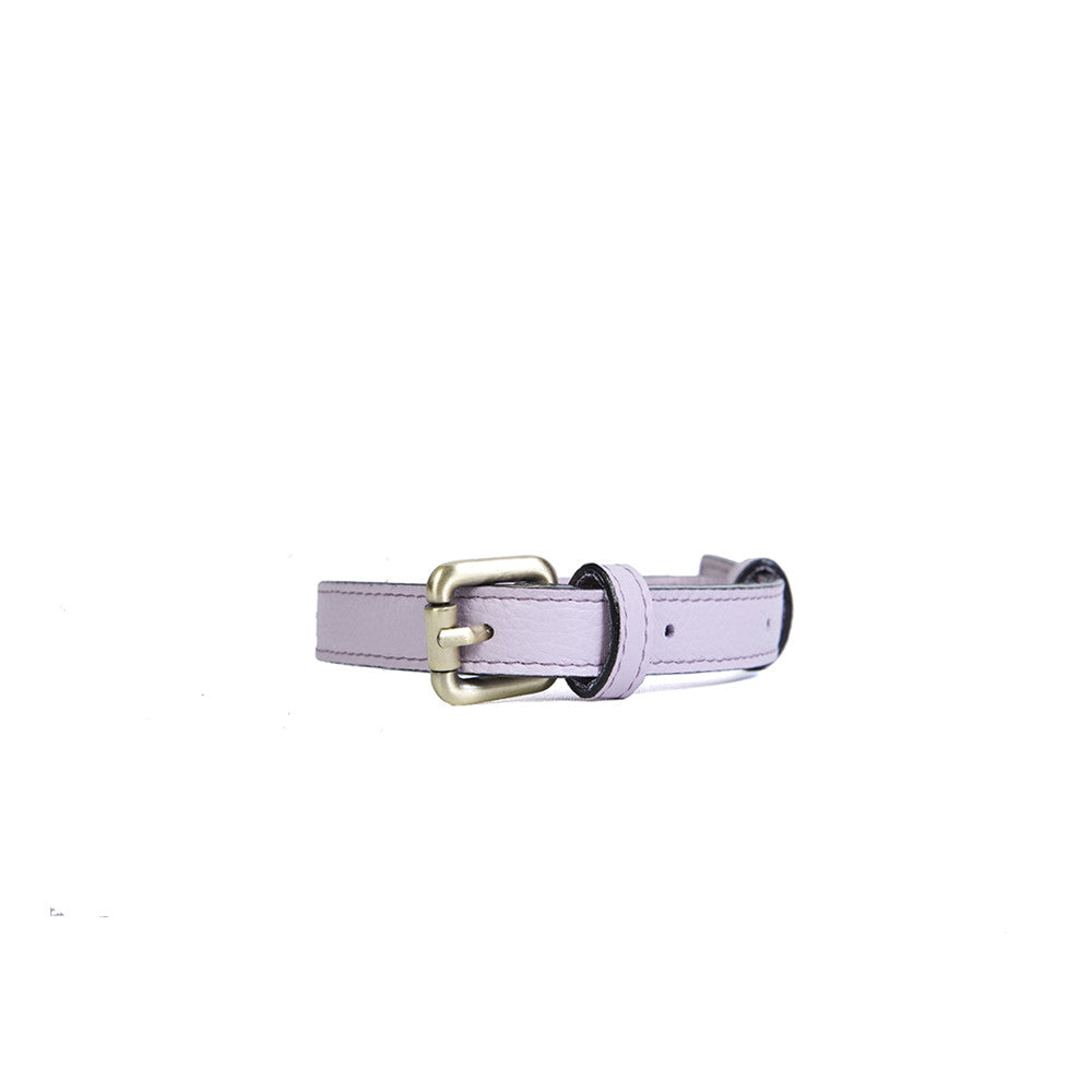 Medium Dog Collar in Lilac