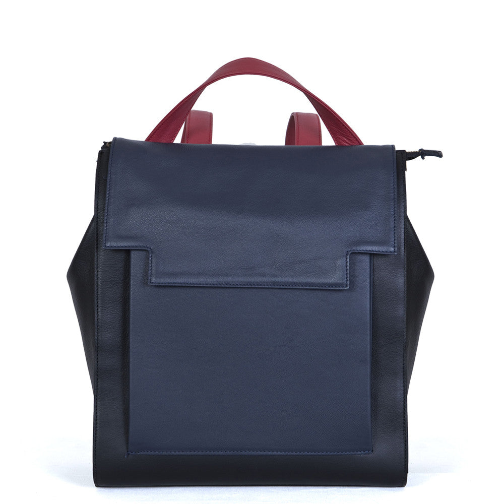May Backpack in Black Blue Red