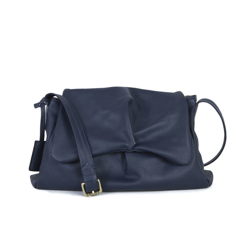 Sui Midi in Navy Blue
