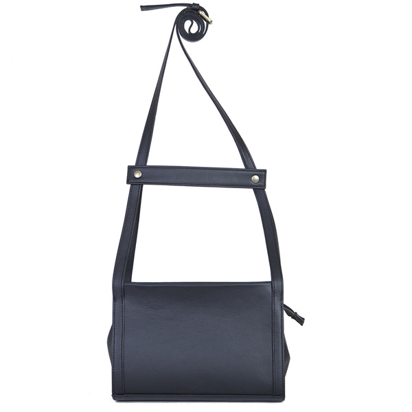 Chest Messenger in Total Black