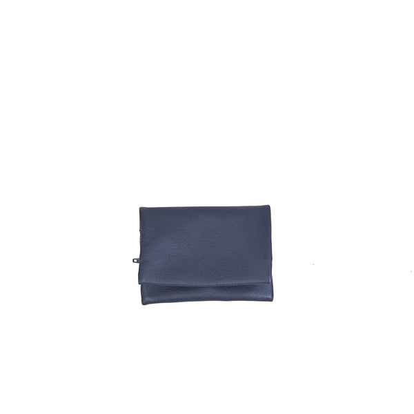 Deema Wallet in Navy Blue