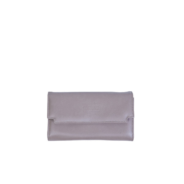 Zaira Wallet in Taupe