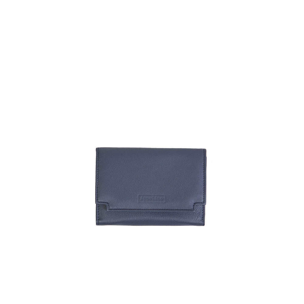 Rawan Wallet in Navy Blue