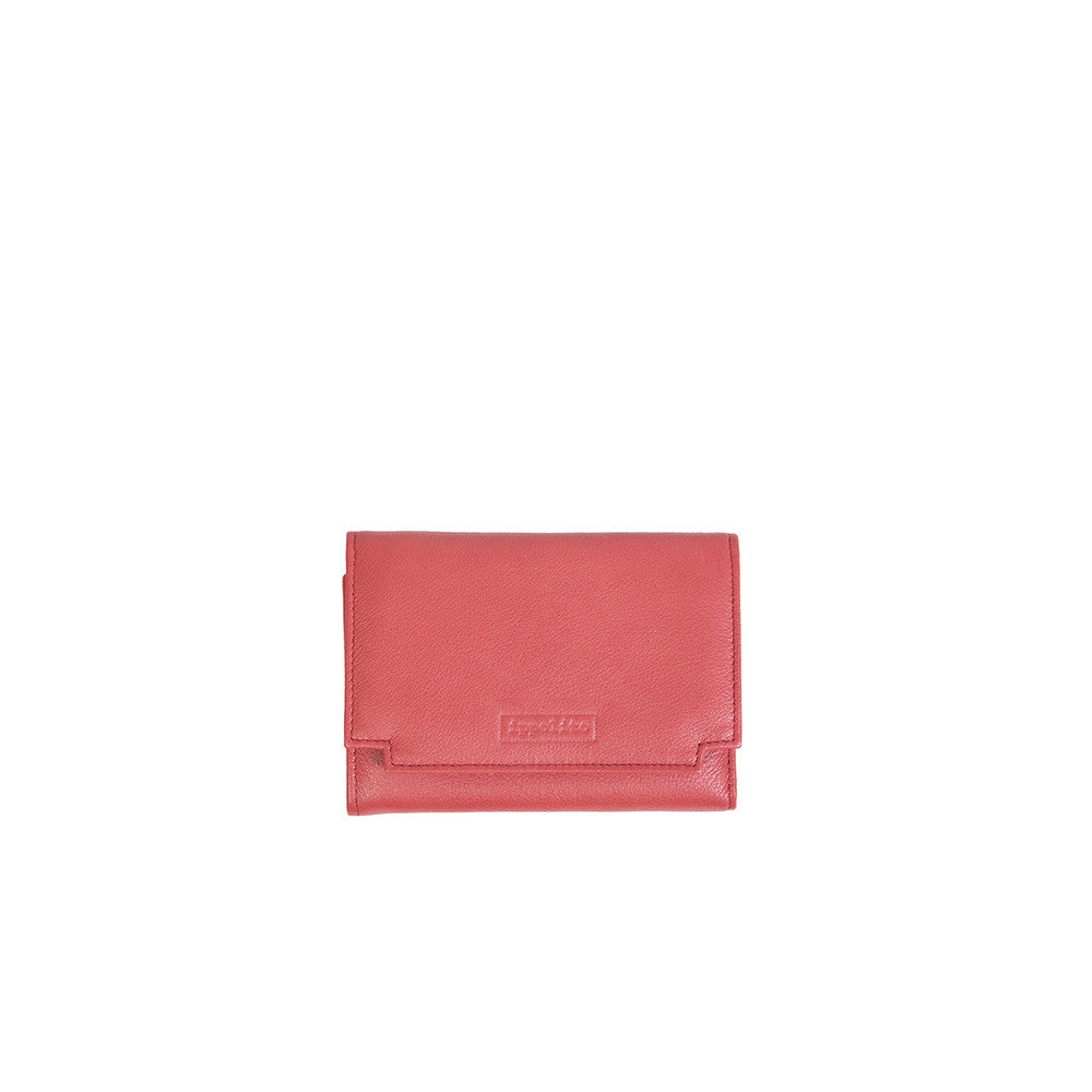 Rawan Wallet in Bright Red