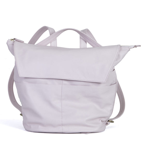 Maternity Backpack Bucket in Baby Pink