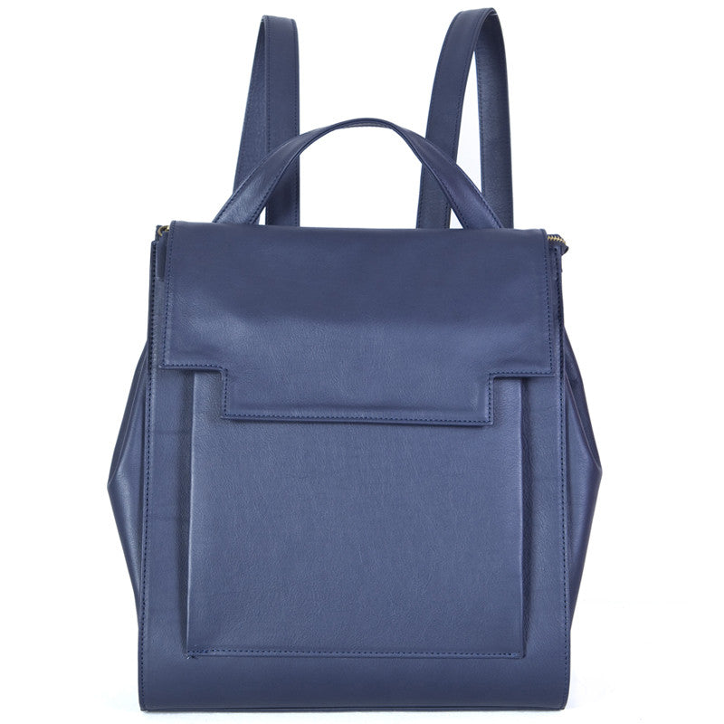 May Backpack in Navy Blue