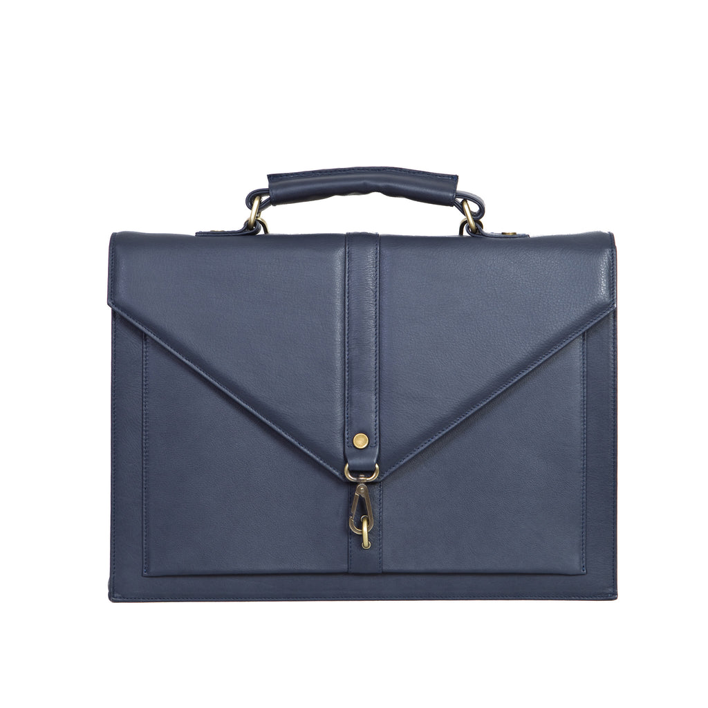 The Ippolito Bag in Navy Blue