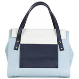 May Tote in Cloud, Marble and Black