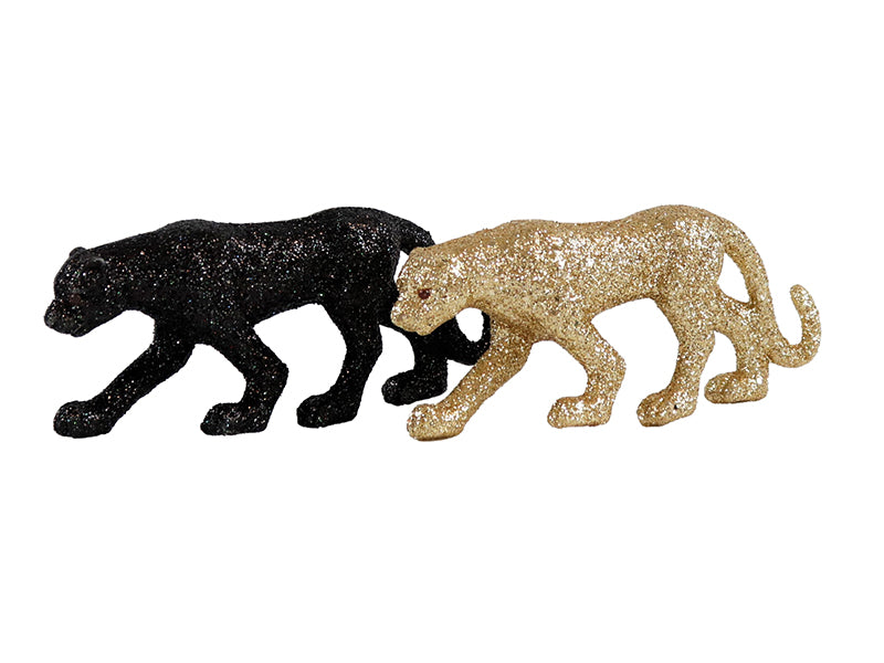 Figur Panther Glitzer Set/2