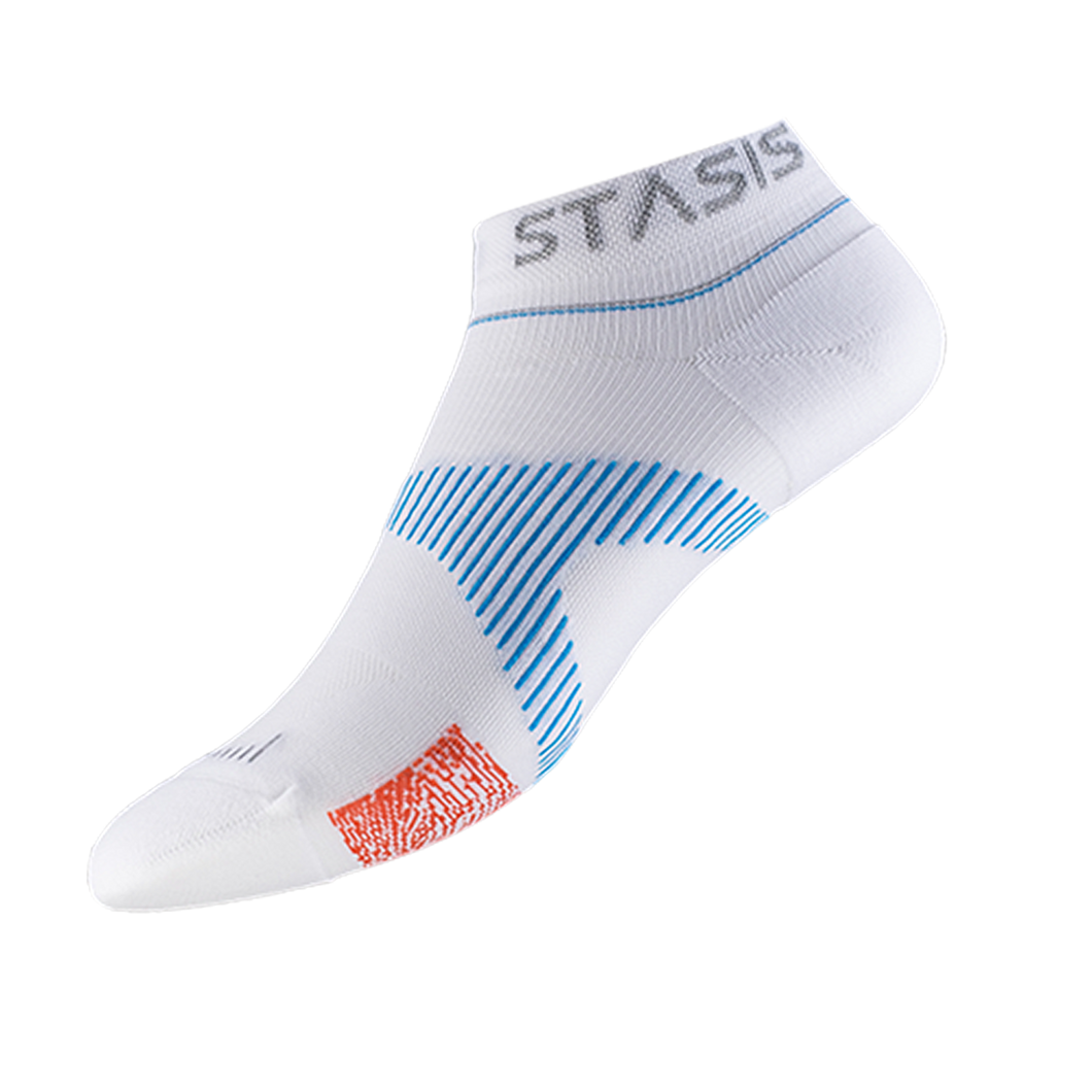 VOXX STASIS ATHLETIC NO-SHOW Weiss