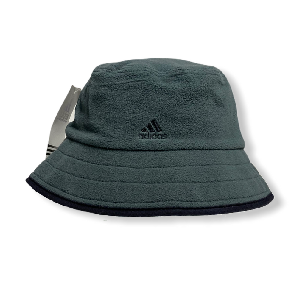 Vintage Early 2000's Adidas Bucket Hat in Green