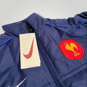 Late 90's Nike Federal French Rugby Jacket in Dark Blue