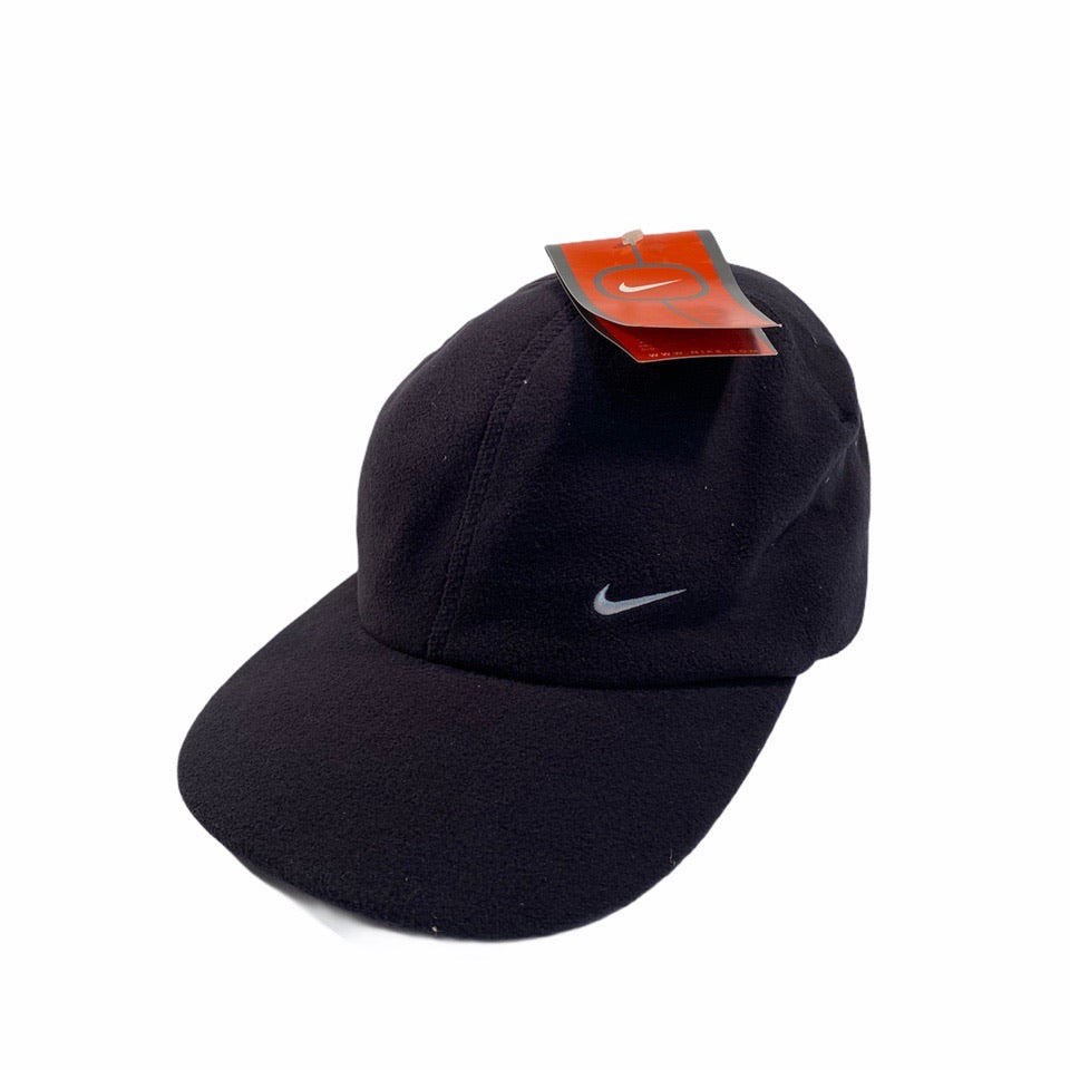 Early 2000's Nike Fluffy Cap in Black