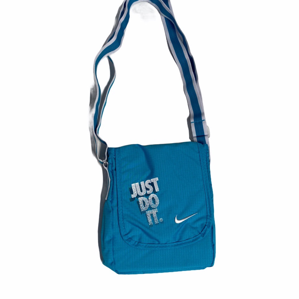 Early 2000s Nike 'Just Do It' Side Bag