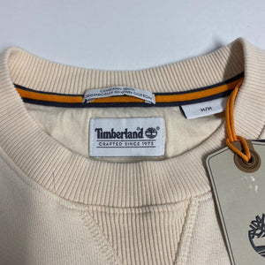 Timberland Boot Logo Sweater in Beige