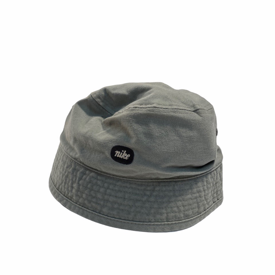 Early 2000's Nike Bucket Hat in Green/Grey