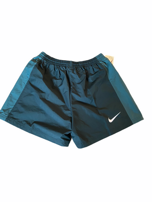Late 90s Nike Shorts in Green with Pine Detailing