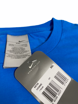 Early 2000s Nike Paris T Shirt in Blue