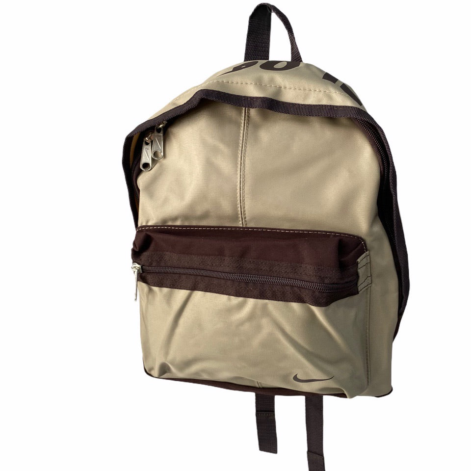 Nike JUST DO IT Backpack in Brown