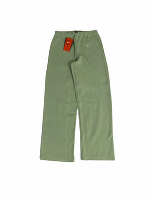 Early 2000's Women's Stretch Trousers in Light Green