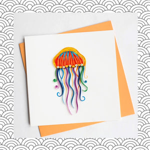Jellyfish - Quilling Card