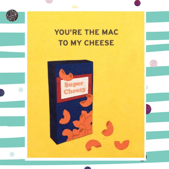 Mac & Cheese - Recycled Paper Card