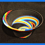 Wire Basket - Rainbow -Small Cone
