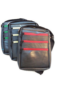 Recycled Tire 3 Zip Bag