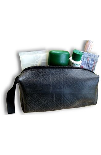 Recycled Tire Toiletry Bag