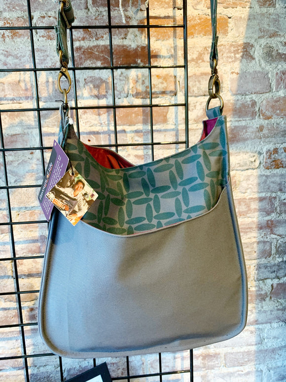 Screen Printed Bag - Large Crossbody