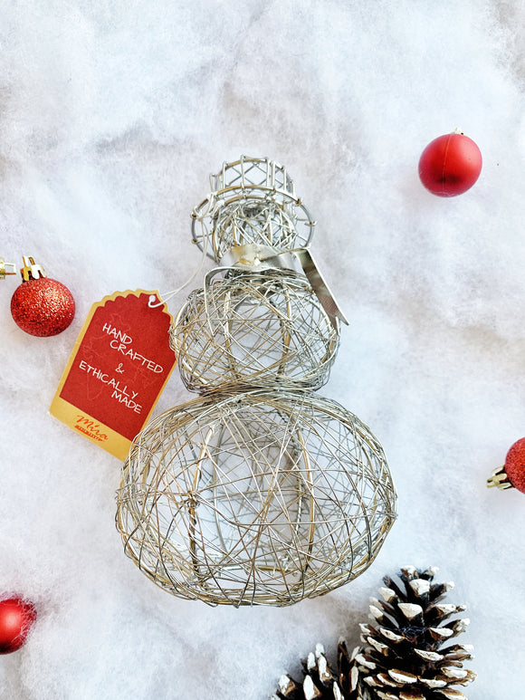 Wire Decorations - Snowman