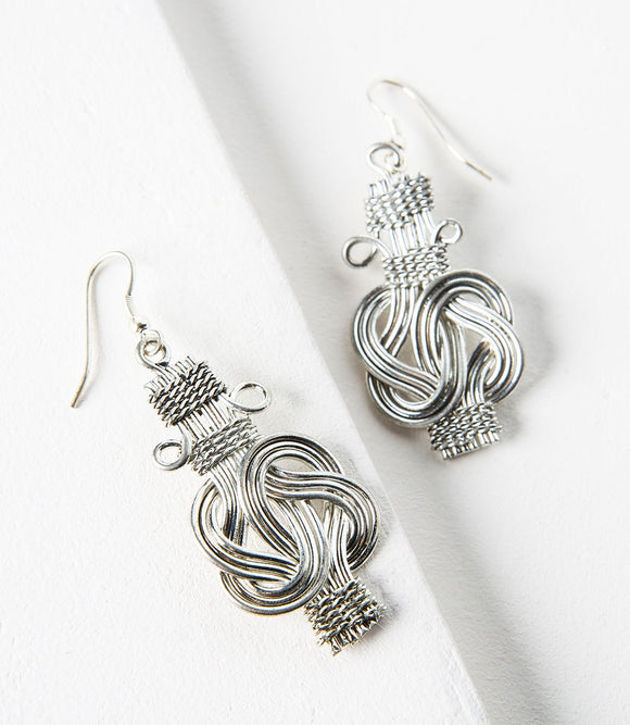 Earrings - Buddha Knot