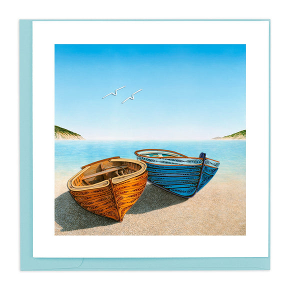 Boats - Quilling Card