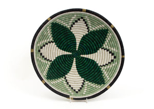 Sisal Basket - Dark Green