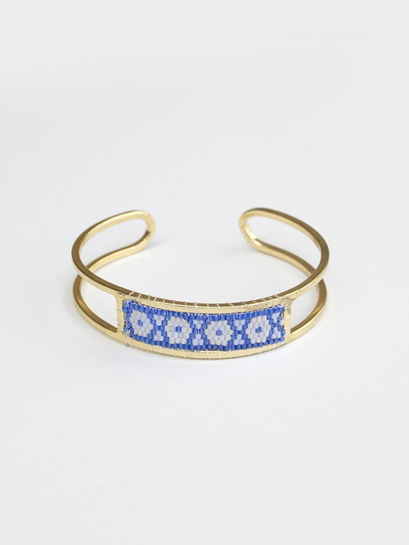 Blue Beaded Allegory Bracelet
