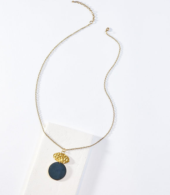 Necklace - Ria Cobalt