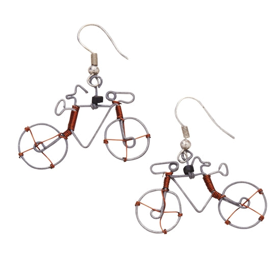 Whimsy Cycling Earrings