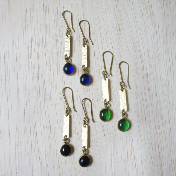 Earrings - Exclamation (Black)