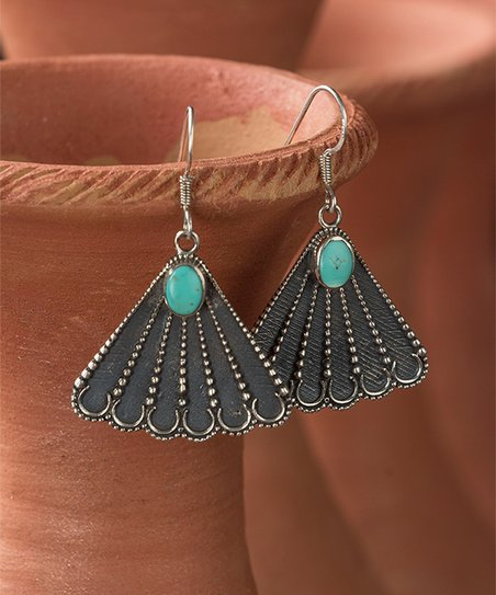Earrings - Fan