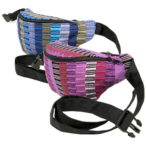 Woven Waist Pack (Fanny Pack) Multiple Colors