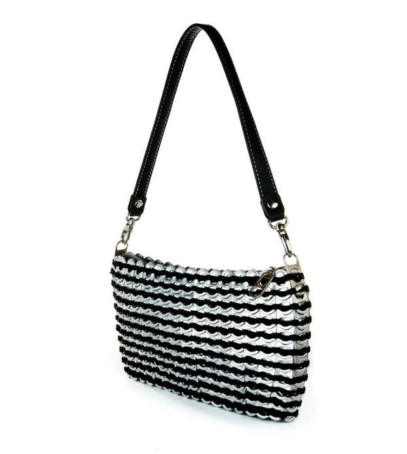 Recycled Pop Top Hand Bag