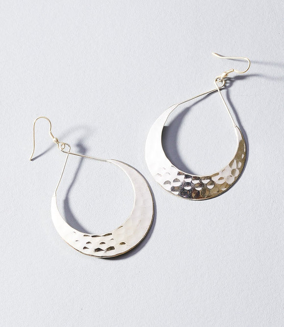 Earrings - Lunar Crescent