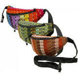 Woven Waist Pack Multiple Colors